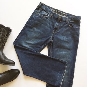 American Eagle Low Rise Boot Cut Jeans Size 36/34